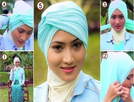Turban Hijab Tutorial screenshot 1