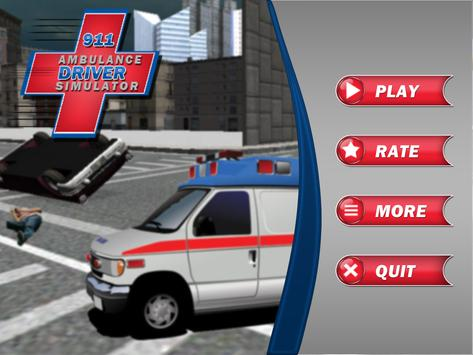 911 Ambulance Driver Simulator screenshot 5