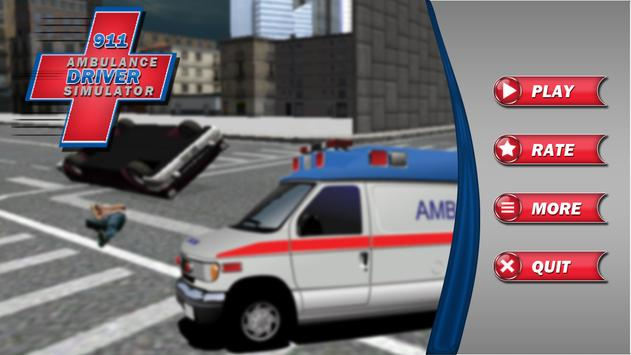 911 Ambulance Driver Simulator screenshot 10