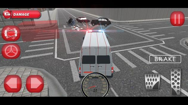 911 Ambulance Driver Simulator screenshot 12