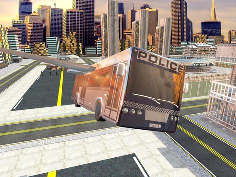 Flying Bus Transport Prisoner apk screenshot