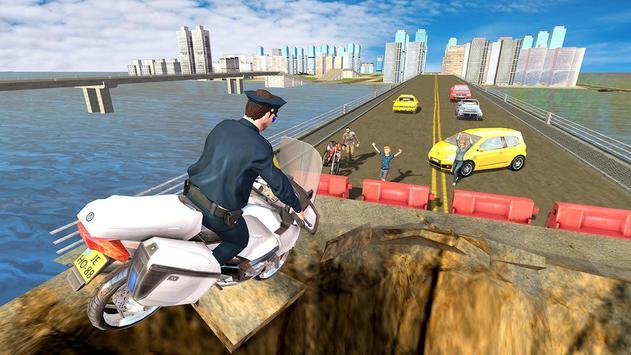 Flying Police Bike Rider screenshot 10