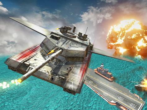 Flying Truck & Tank Air Attack apk screenshot