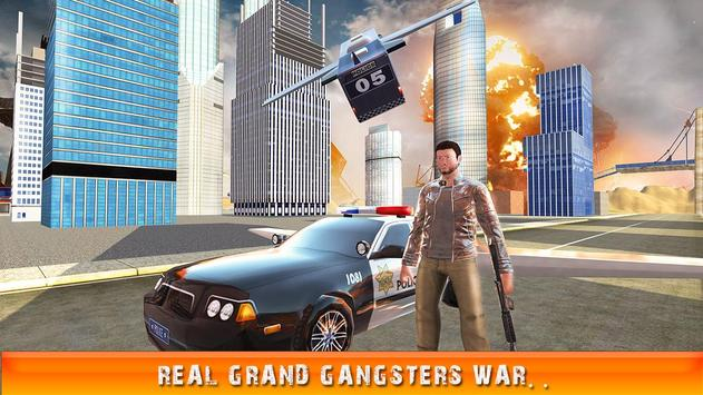 Flying Police Car Gangsters LA apk screenshot