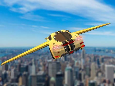 Futuristic Flying Car Drive 3D apk screenshot