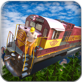 Tourist Flying Train Simulator icon