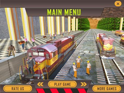 Tourist Flying Train Simulator poster