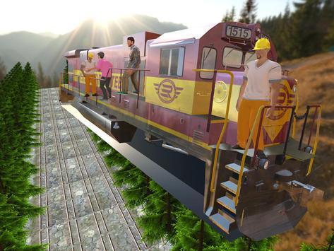 Tourist Flying Train Simulator apk screenshot