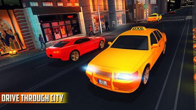 Halloween Party Taxi Driving screenshot 4