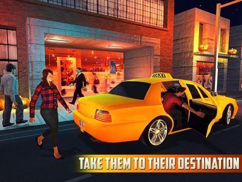 Halloween Party Taxi Driving screenshot 6