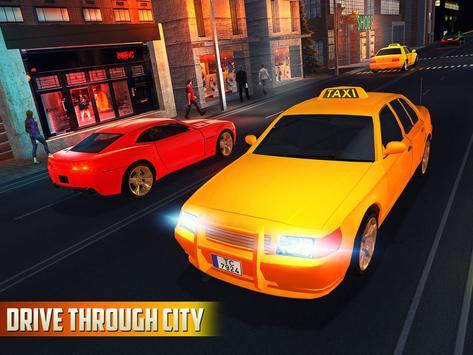 Halloween Party Taxi Driving screenshot 9