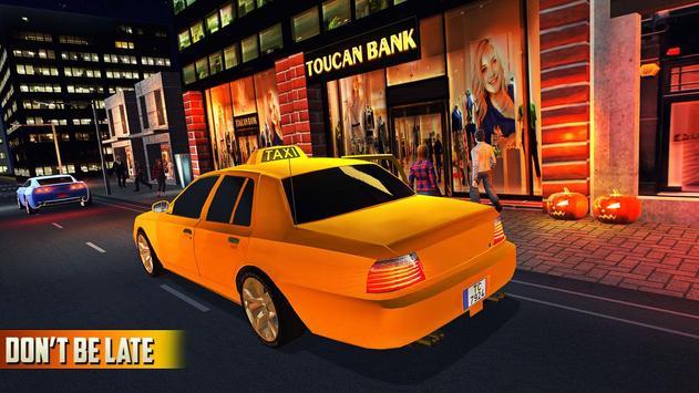 Halloween Party Taxi Driving screenshot 13