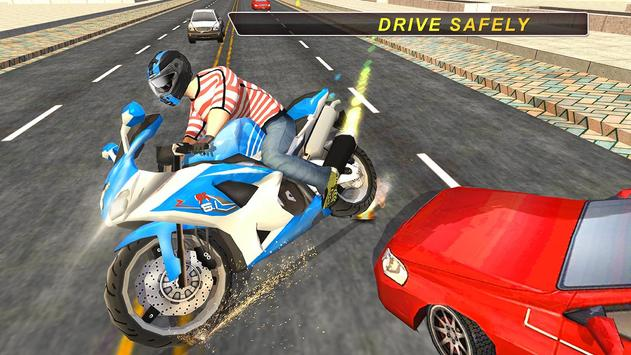 Extreme Highway Traffic Bike apk screenshot