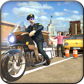 Extreme Traffic Police Bike 3D icon