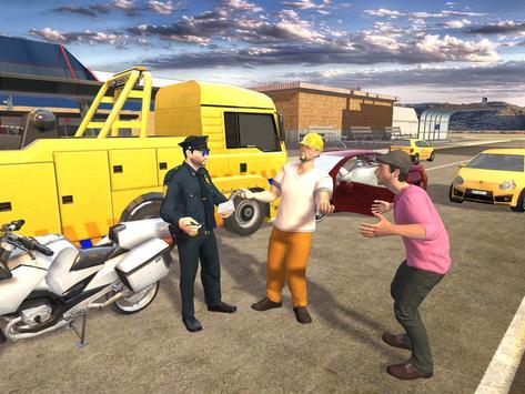 Extreme Traffic Police Bike 3D apk screenshot
