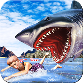 Extreme Angry Shark Attack Sim icon