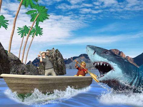 Extreme Angry Shark Attack Sim poster