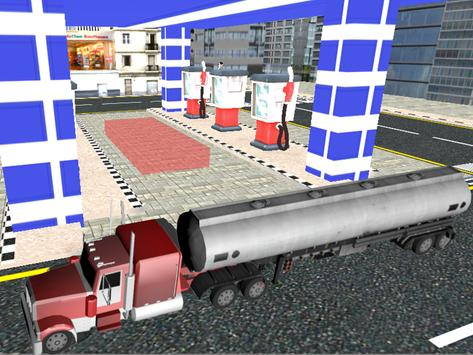 City Oil Cargo Truck Simulator screenshot 11