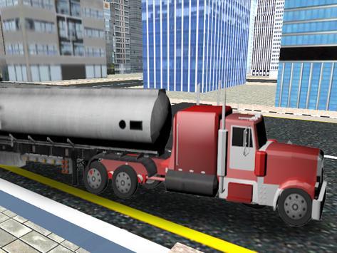 City Oil Cargo Truck Simulator screenshot 6