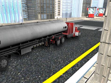 City Oil Cargo Truck Simulator screenshot 7