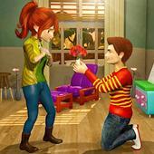 Virtual Neighbor Happy Family: Love Story Games icon