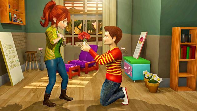 Virtual Neighbor Happy Family: Love Story Games screenshot 2