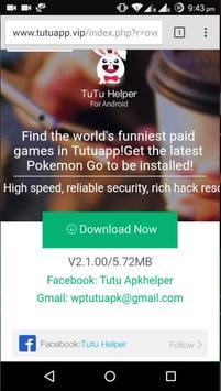 Tutuapp : Tutu Helper poster