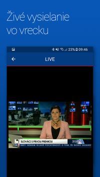 Televízia TA3 apk screenshot