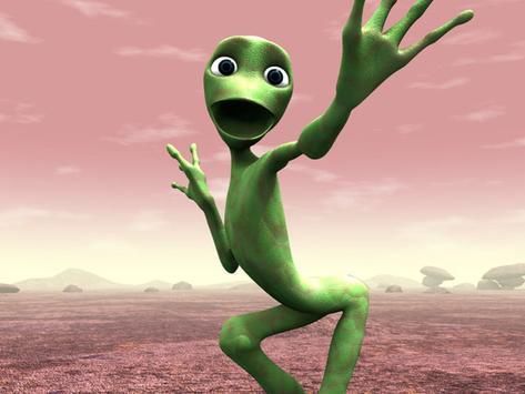 Green Alien Dance screenshot 4