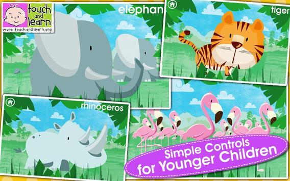 Peekaboo Zoo Lite apk screenshot