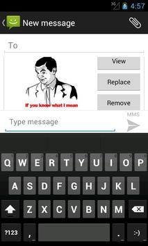 SMS Rage Faces screenshot 4