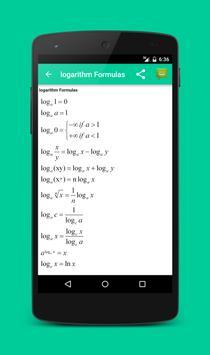 All Math formula ảnh chụp màn hình 3
