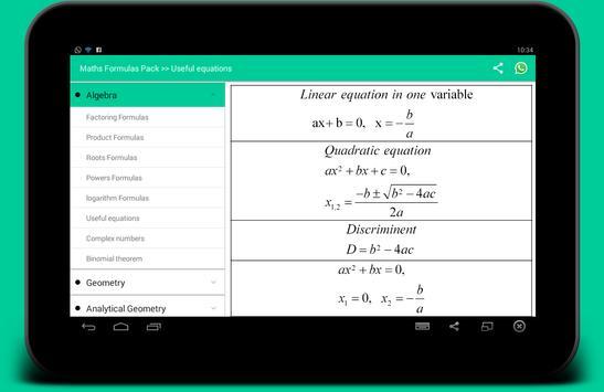 All Math formula ảnh chụp màn hình 4