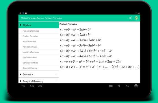 All Math formula ảnh chụp màn hình 5
