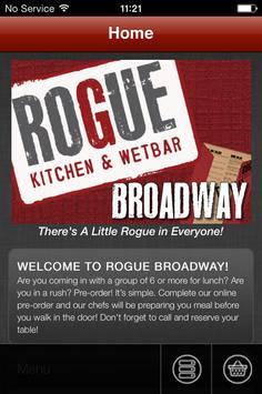 Rogue Kitchen&Wetbar- Broadway apk screenshot