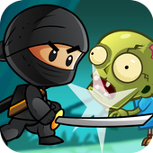 Ninja Kid vs Zombies icon
