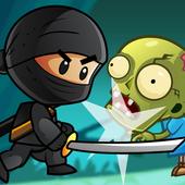 Ninja Kid vs Zombies icon