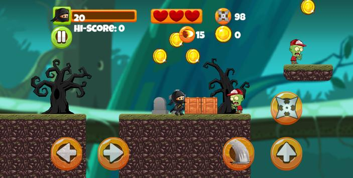 ninja kid vs zombies apk download free arcade game for android
