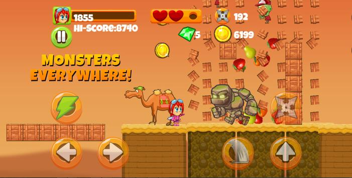 Ninja Kid vs Zombies apk screenshot