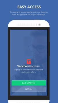 Teachers Register poster