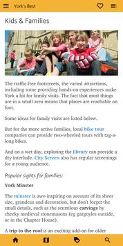 York's Best: City Travel Guide apk screenshot