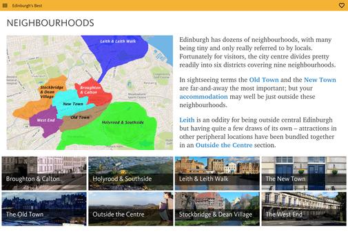 Edinburgh's Best: City Travel Guide screenshot 10