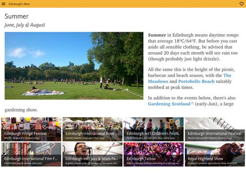 Edinburgh's Best: City Travel Guide screenshot 15