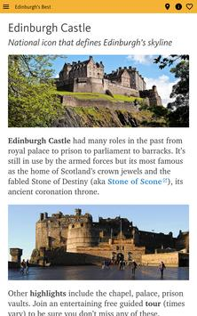 Edinburgh's Best: City Travel Guide screenshot 16