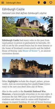 Edinburgh's Best: City Travel Guide screenshot 1