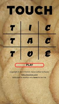 TOUCH: Tic Tac Toe poster