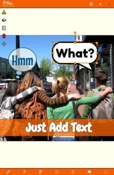 Just Add Text (to photos/pics) apk screenshot