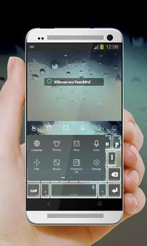 Vibrant sea Keypad Cover apk screenshot