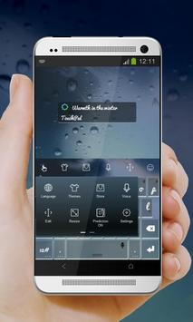 Warmth in the winter Keypad apk screenshot