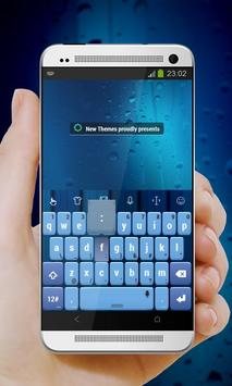 Blue palette Keypad Cover apk screenshot